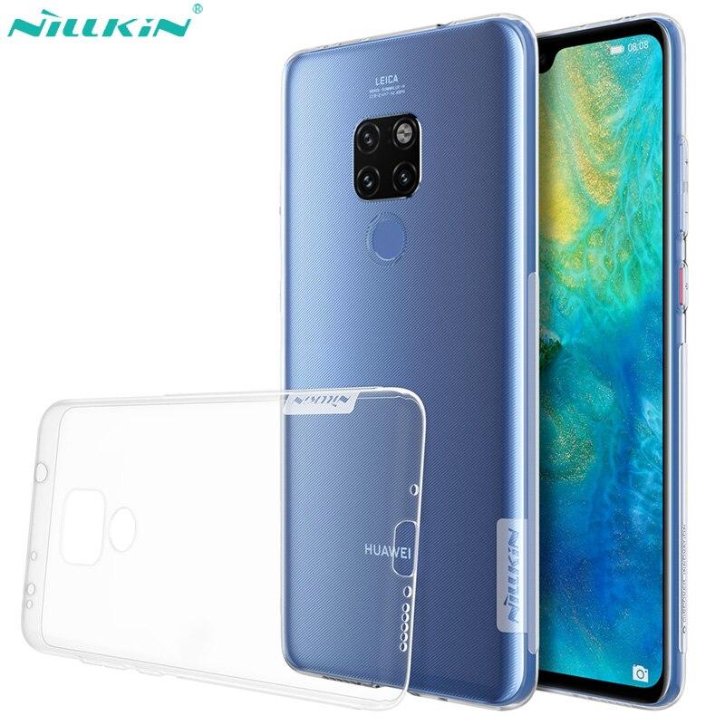 Nillkin, funda suave de TPU natural para Huawei Mate 20, funda Mate20 Pro, funda transparente fina de silicona para Huawei Mate 20 Pro Coque