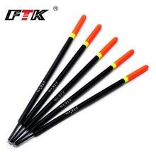 FTK Barguzinsky sapin 10 pièces/lot Bobber flotteur de pêche longueur 16-22 CM flotteur 1G 2G 3G 4G pour la pêche à la carpe