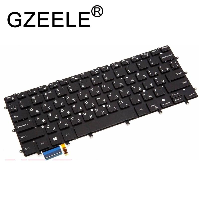 RU لوحة المفاتيح لديل 13 7347 7348 P57G P57G001 P41F P41F001 9343 9350 9360 15BR N7547 N7548 7547 7548 17-3000 الخلفية
