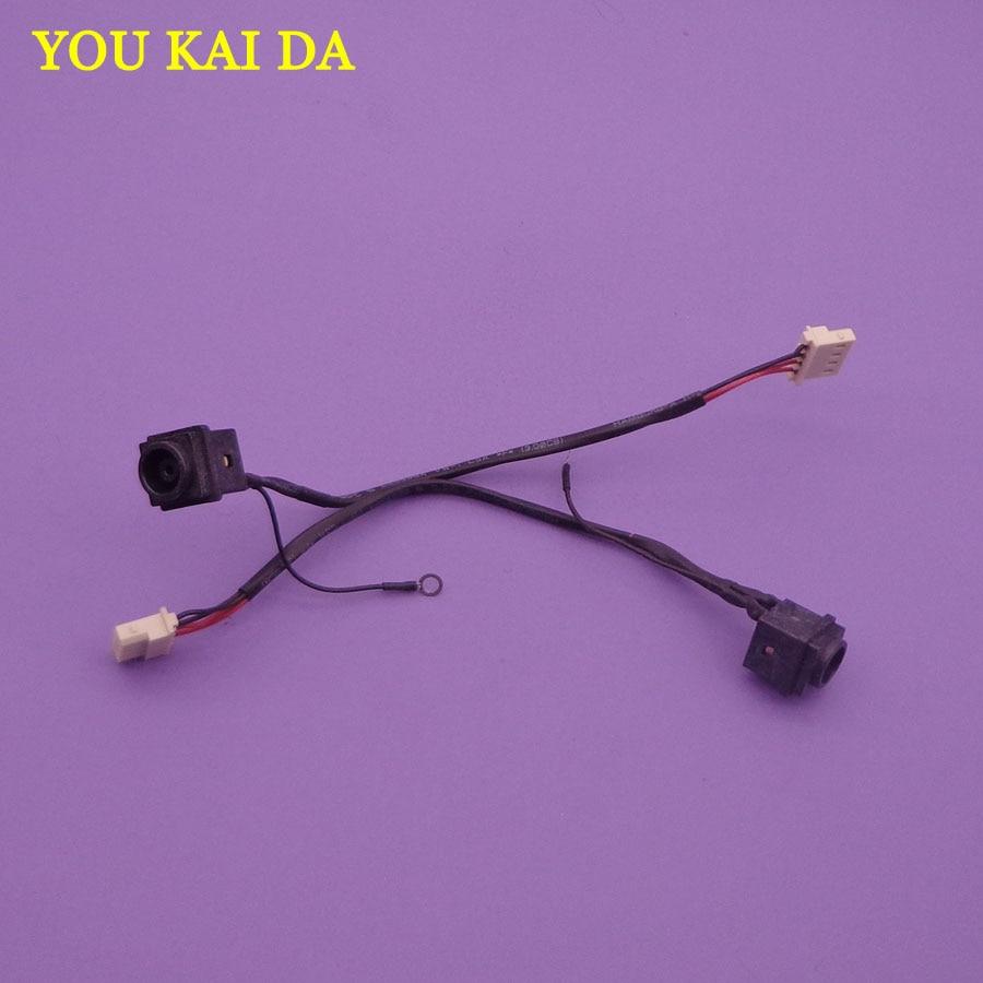 5 uds DC Power Jack zócalo de carga con Cable para Sony Vaio VPCEH VPC-EH VPCEH1AFX/B/SVE15 SVE151G11L PCG-71B11N-71914L 71911M