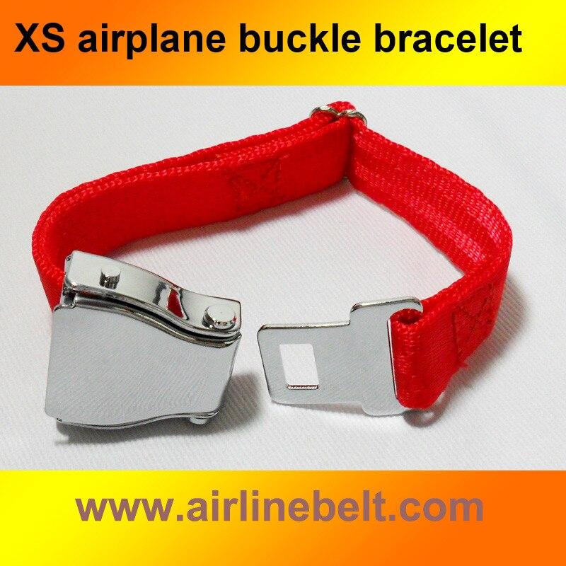 Clásico superior SUS #304 Acero inoxidable mini avión aerolínea hebilla para cinturón de seguridad pulsera de moda hombres señora Envío de regalos gratis