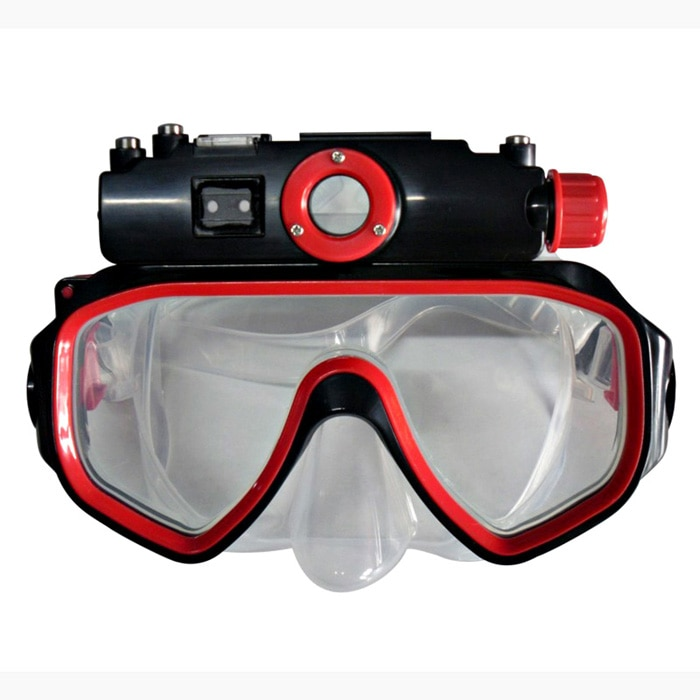 Winait HD720p máscara de mergulho câmera de vídeo digital À Prova D Água