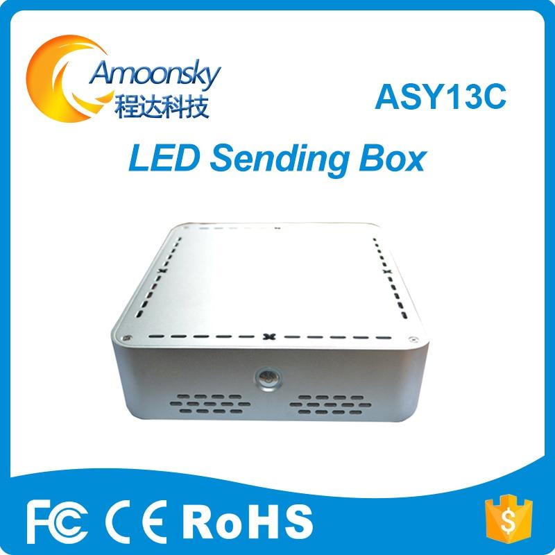 Publicidade display led dbstar DBS-ASY13C assíncrono display led caixa de controlador led media player suporte DBS-HRV12A DBS-HRV13A