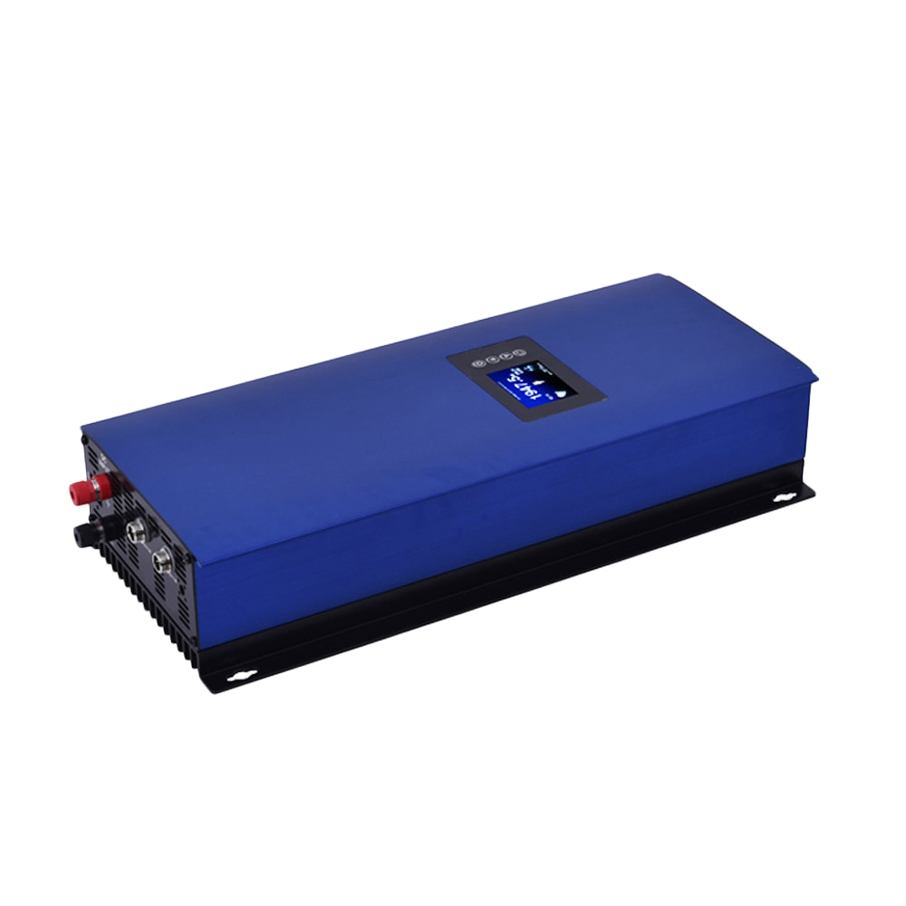 2000W MPPT energía Solar en inversor de conexión a red con limitador de 45-90VDC AC 220V 230V 240V LCD