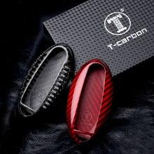 Carbon Fiber Remote Key Fob Fall Shell Abdeckung Für Nissan Teana Altima Qashqai X-trail Sentra Tiida Livida Blatt maxima 370Z Patrol