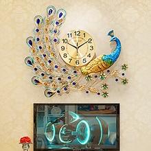 큰 간단한 예술 공작 벽시계 골동품 현대 중국 디자이너 벽시계 거실 북유럽 디자인 zegary 가정 시계 50w126