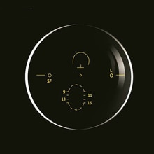 Viodream 1.61 다 초점 프리 폼 프로그레시브 포토 크로 믹 렌즈 그레이 브라운 선글라스 렌즈 처방 안경