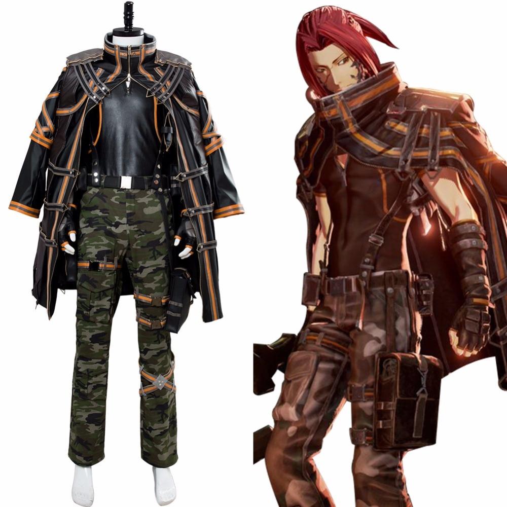 Jogo Código Veia Yakumo Cosplay Traje do Carnaval de Halloween Homens Traje Cosplay Uniforme Outfit Custom Made