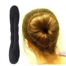 1 PC nouveau mode coiffure magique éponge Clip mousse chignon bigoudi coiffure Twist Maker outil Braider accessoires livraison gratuite