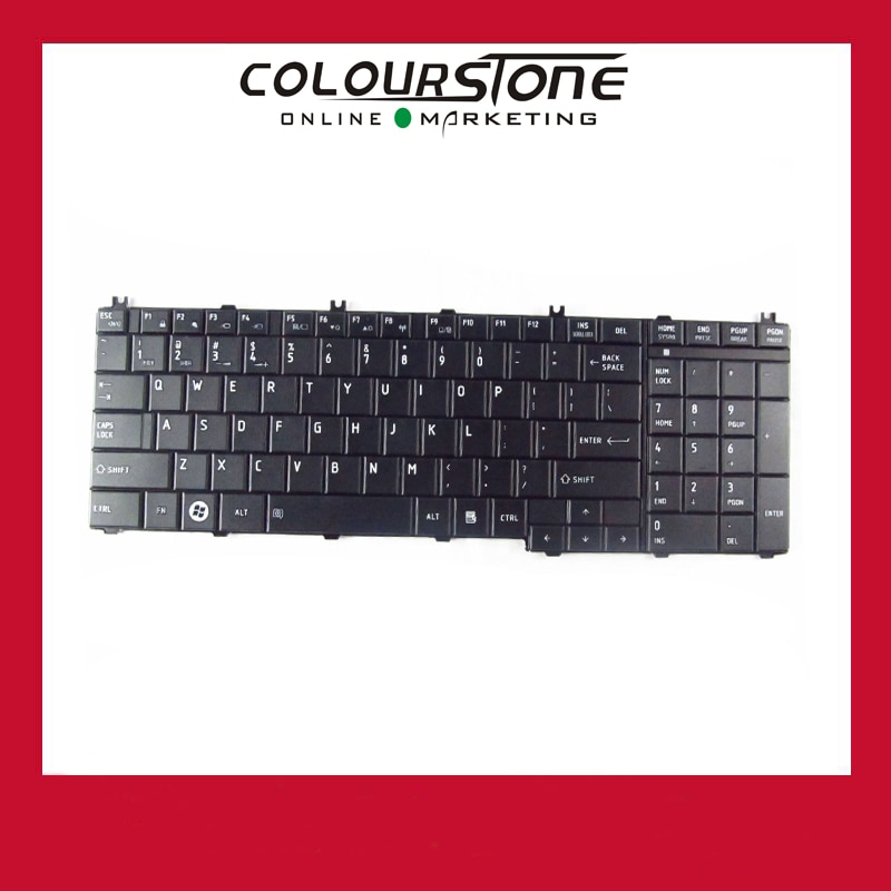 Nuevo Teclado Negro Para Toshiba Satellite C650 C660 L675 C655 C655d C670 L650 L655 L670 L750 L755 L755d 5 Unids Lote For Toshiba Toshiba C650 Keyboardtoshiba Satellite Keyboards Aliexpress
