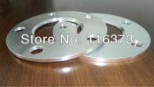 Espaceurs de roue hubcentrique   1 paire de 5x112mm billette 5mm épaisseur 66.6mm alésage de moyeu