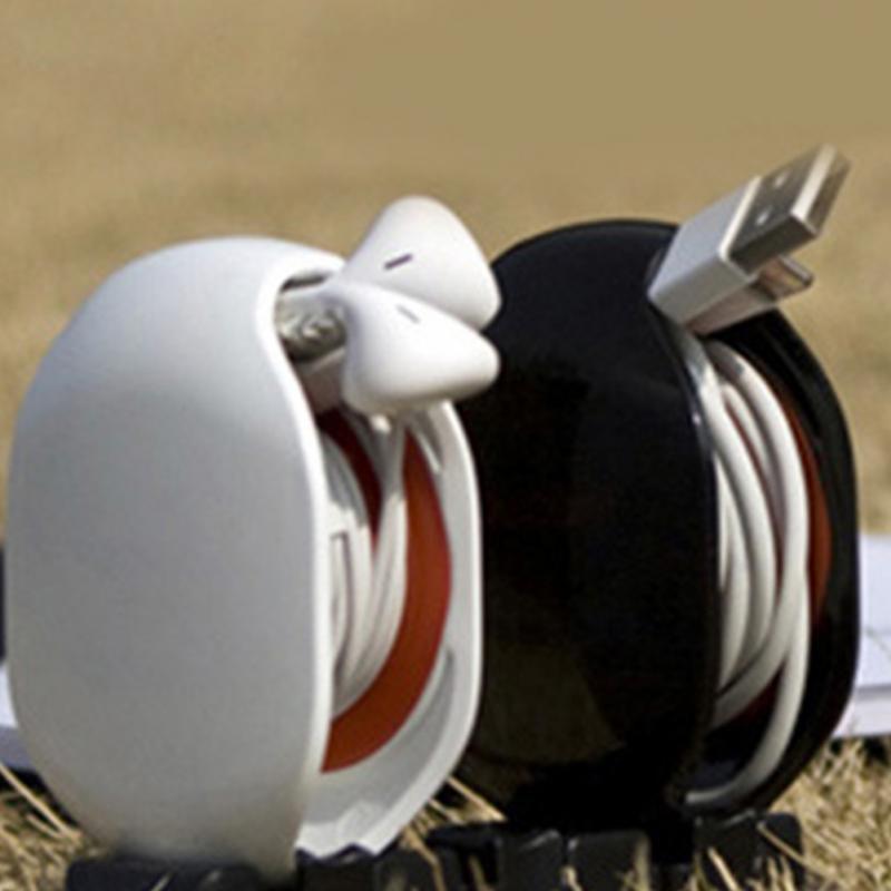 Новый автоматический Кабельный Шнур, проволочный Органайзер, намотка, умная обертка для наушников, гарнитура #05
