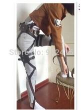 Attack On Titan Cosplay Shingeki No Kyojin Cosplay Recon Corps Harness Belts Hookshot Cosplay Costume Adjustable Belts
