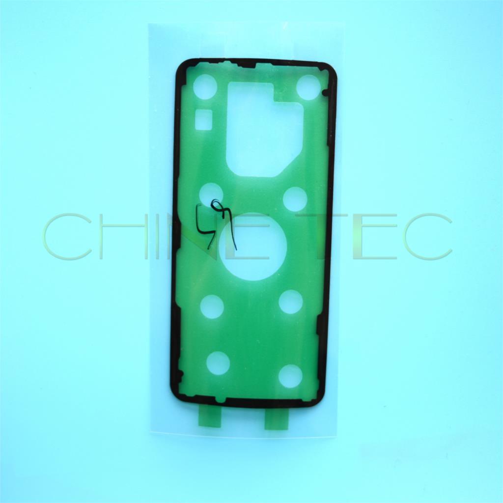 100x الأصلي ملصق الخلفي الخلفي غطاء البطارية قضية الباب لاصق لسامسونج غالاكسي S9 S9 زائد + G960 G965