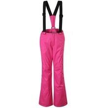 Haute qualité filles ski pantalon rose rose enfants ski pantalon unisexe enfants snowboard pantalon bleu rouge vert noir sport pantalon