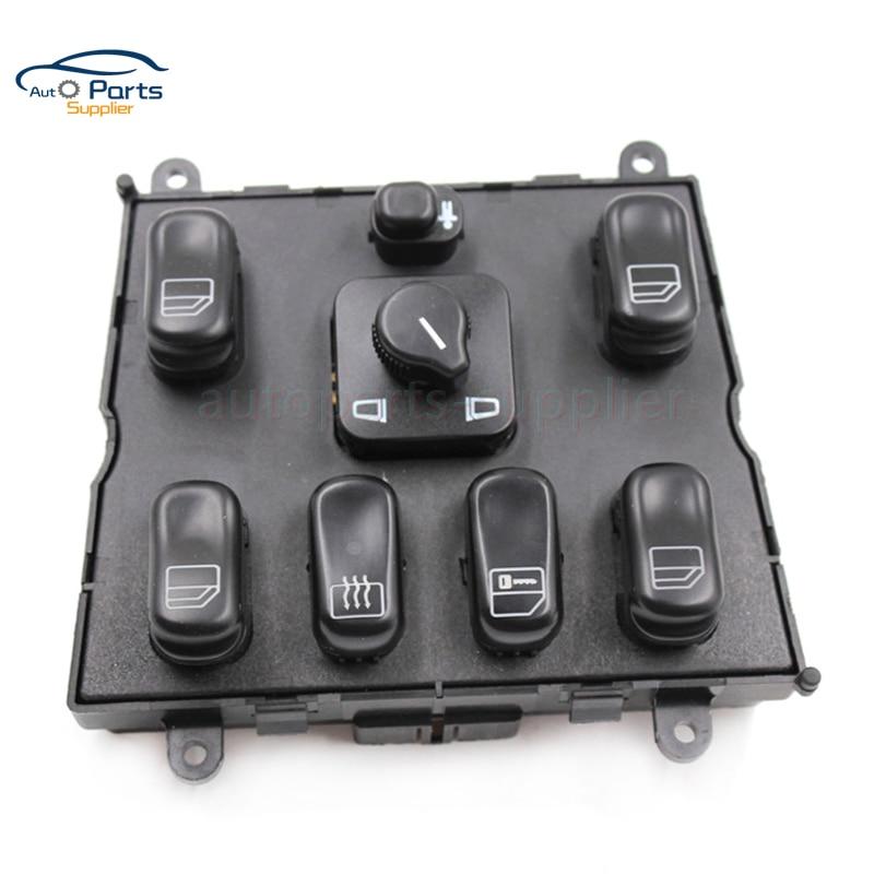 De alta calidad nuevo interruptor de la ventana de energía para Mercedes ML W163 ML320 1998-2002 de 1998 de 1999 A 1638206610 A1638206610 1638200110