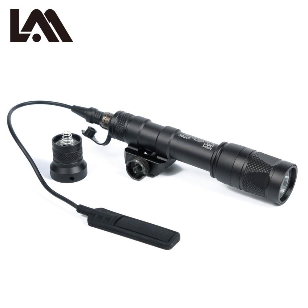 LAMBUL M600V IR luz Scout NV caza evolución nocturna LED linterna Armas tácticas infrarrojas luz para deportes al aire libre