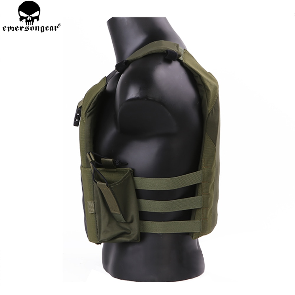 EMERSON NEW Tactical Vest Hunting Bulletproof Vest Airsoft emersongear Plate Carrier Molle Waistcoat Combat Assault Vest EM7353 enlarge