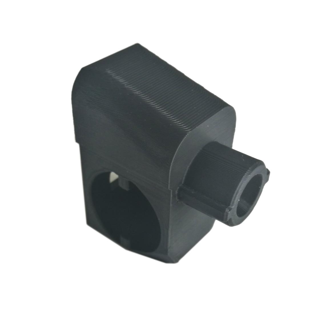MODIKER PLA DK Adapter rury buforowej do odbiornika Ump45 do JM Gen.9/do rury tylnego bufora AEG-czarny