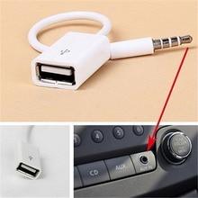 3,5 AUX Audio Stecker Zu USB 2.0 Konverter USB Aux Kabel Für Auto MP3 Lautsprecher U Disk USB-Stick zubehör