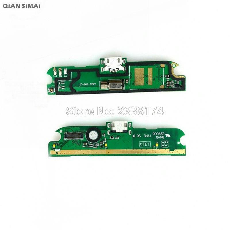 QiAN SiMAi para Lenovo A830 nuevo cargador USB puerto de carga con piezas de reparación de micrófono