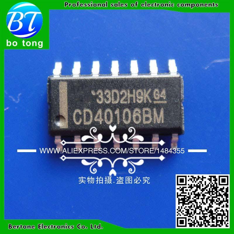 20 piezas CD40106BM CD40106B CD40106 SOP-16