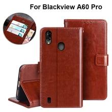 Pour Blackview A60 A 60 étui de luxe Vintage Flip portefeuille en cuir Fundas téléphone sac étui pour Blackview A 60 A60 Pro couverture Capa Coque