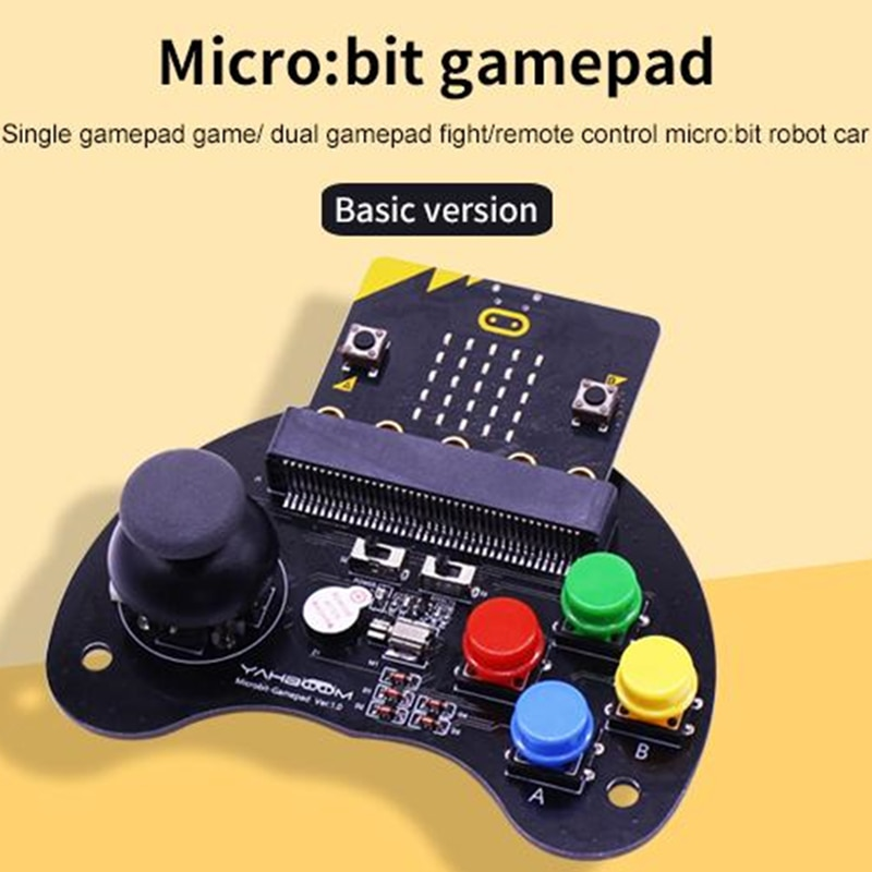 Yahboom mikro nieco podstawowe uchwyt do gier pilota zdalnego sterowania dla inteligentnego samochód robot