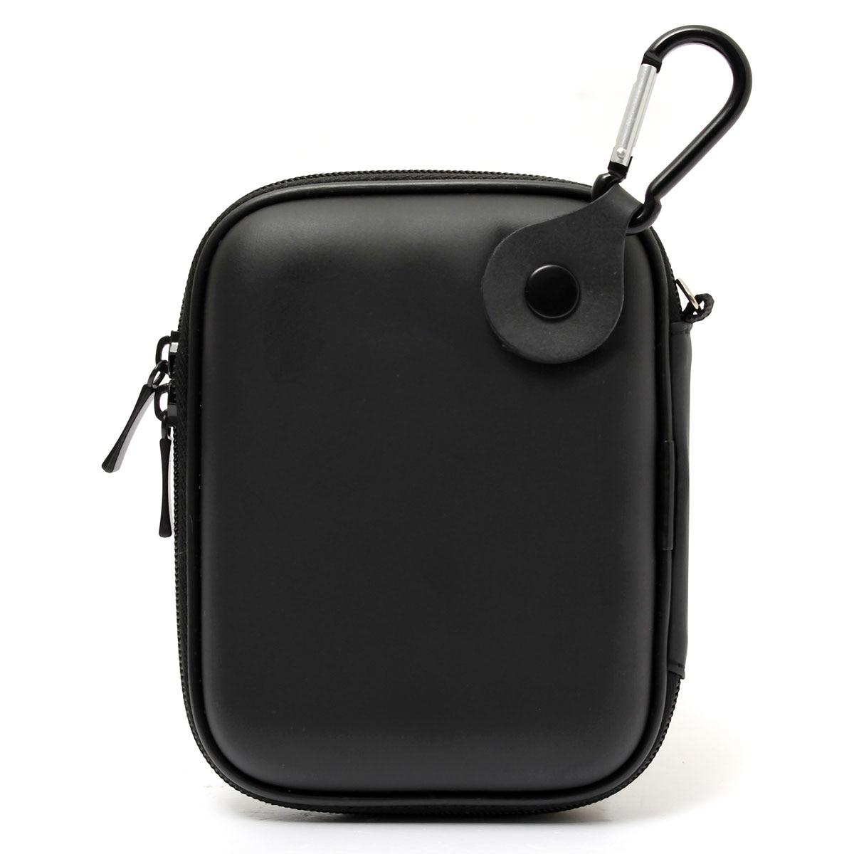 Bolsa de transporte rígida externa con cremallera universal de 5,5 portátil, bolsa de protección para la expansión de Seagate, disco duro externo