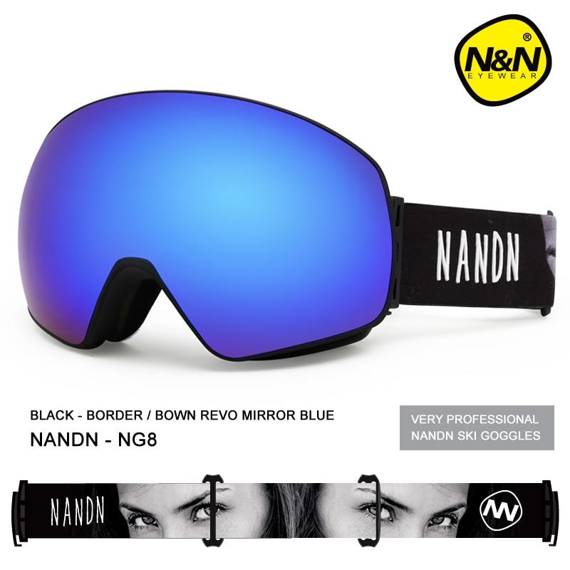 Фото - NANDN SNOW ski goggles double layers UV400 anti-fog big ski mask glasses skiing men women snow snowboard goggles nandn ski goggles double layers uv400 anti fog big ski mask glasses skiing men women snow snowboard goggles ng5
