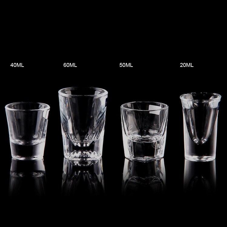 Cristal de vidrio de suela gruesa boutique copa de vino de un vaso de vidrio envío gratis por SGS