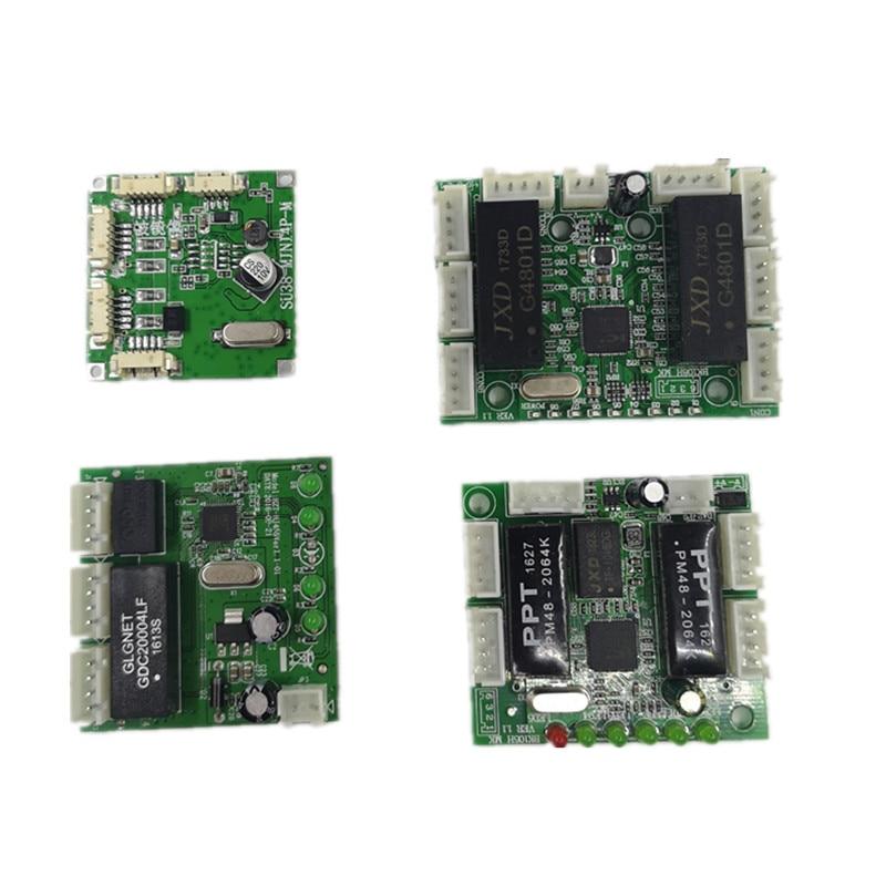 Мини-модуль, дизайн, ethernet коммутатор, монтажная плата для модуля ethernet, 10/100 Мбит/с, 3/4/5/8 порт, плата PCBA, OEM материнская плата