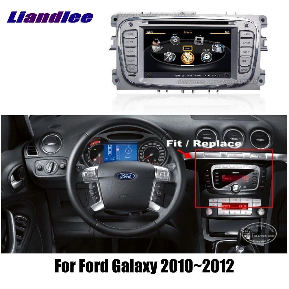 Ford Galaxy 2010 ~ 2012-sistema de navegación GPS de coche + Radio TV DVD iPod BT 3G WIFI HD pantalla Sistema Multimedia