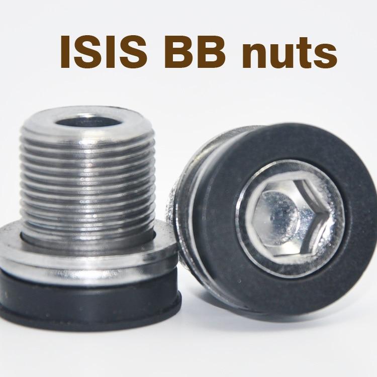 15MM BMX ISIS bicicleta inferior soporte hexagonal llave bicicleta BB tornillos impermeables