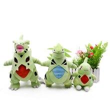 3 Styles debout méga Tyranitar méga évolution Peluche Larvitar animaux poupées en Peluche jouets chauds grand cadeau pour les enfants
