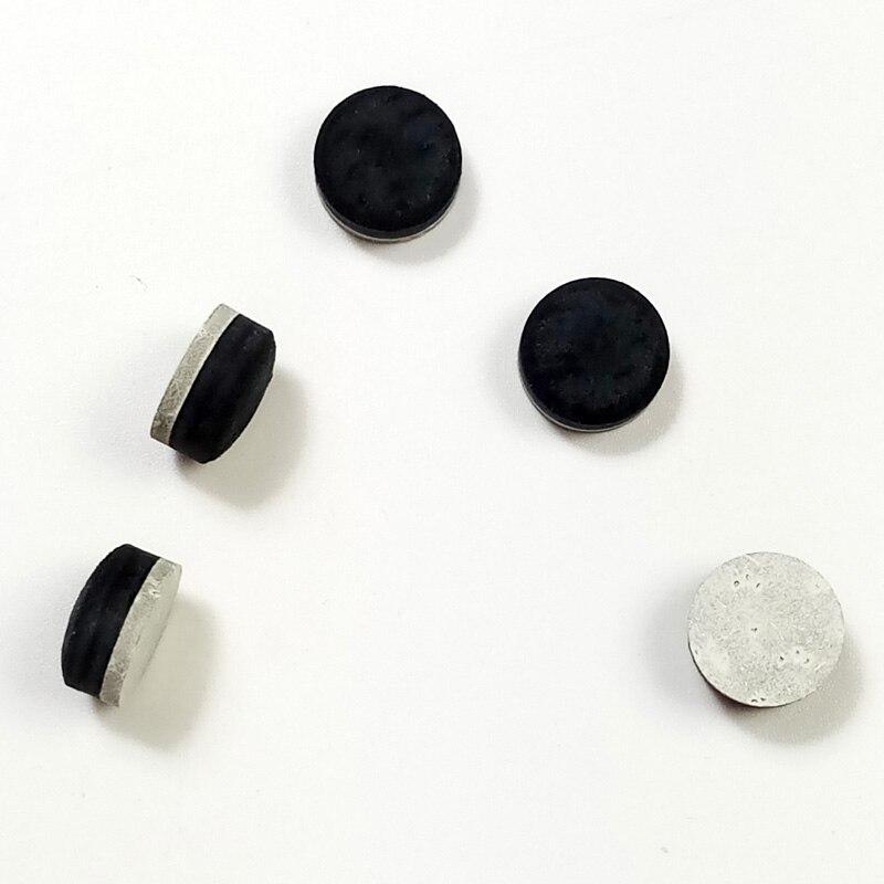 8 stücke 9/10/11/12/13/13,5mm Billard Pool queue tipps radiant form multi-schicht snooker tipps Billard zubehör