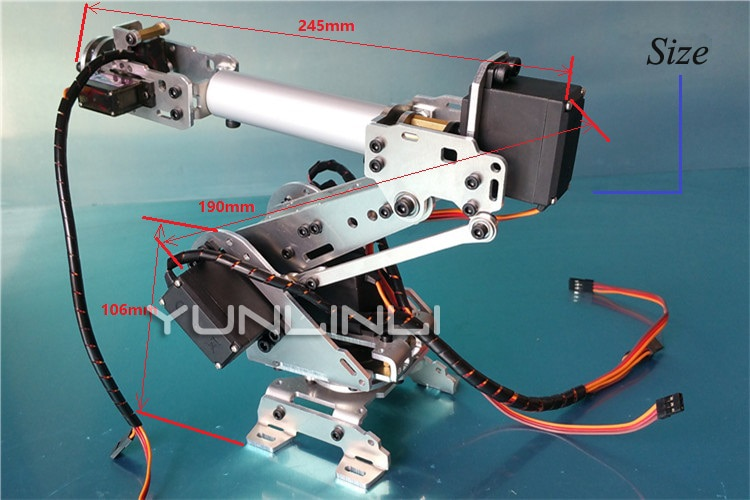 Mechanical Arm  6 Freedom Manipulator With Large Ball Bearing Abb Industrial Rrobot Model Six Axis Robot 2 ABB1 enlarge