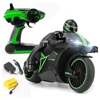 2 4g mini fashion rc motorcycle with cool light high speed rc motorbike model toys remote control drift motor kids toys for gift
