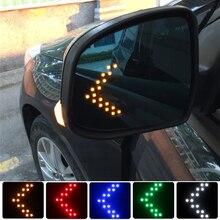 Car Styling Car Rear View Mirror Indicator Turn Signal Light For Suzuki Swift Grand Vitara Jimny SX4 Samurai Alto Baleno Celerio