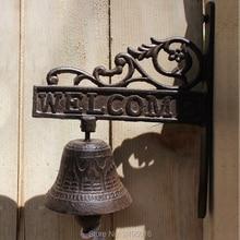 Support en fonte de Style français   Crochet de porte cloche de Patio, de jardin, de jardin, décoration de la maison, Accent, livraison gratuite