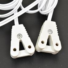 Toika 100 pcs/Lot 1200mm T8 câbles boîte à lumière fil lampe fluorescente ligne tube kit lampe base câble raccord accessoires connecteur