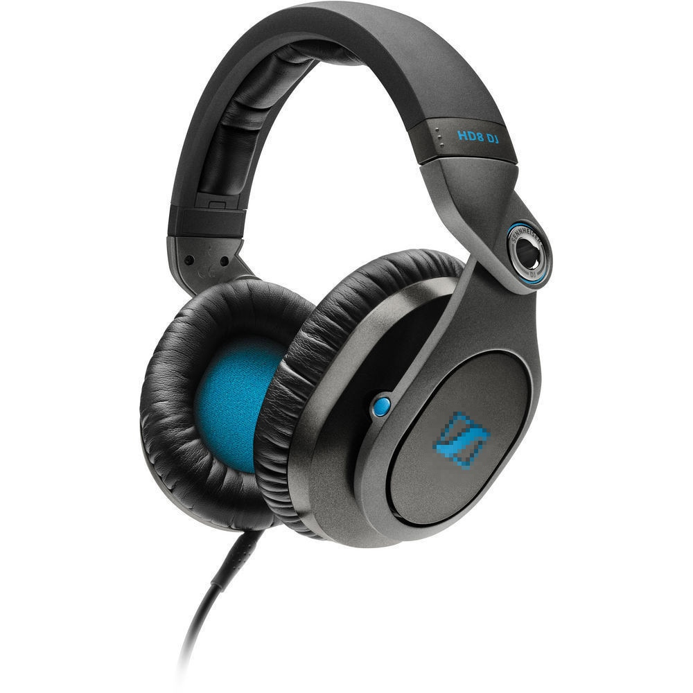 Replacement Ear Pads Cushion for Sennhei HD8 HD 8 DJ Headphones