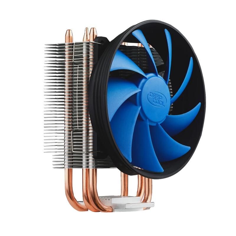 Deepcool Gammaxx 300 enfriador de CPU 3 Heatpipe 120mm ventilador PWM INTEL LGA1156/1155/1151/AMD AM2 1150/775/3 ventilador de CPU disipador de calor