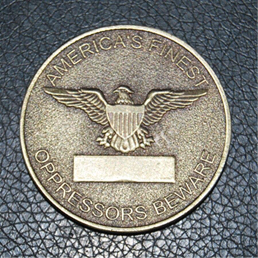 Delta Force Elite niveau 1 CAG 5 pièces/lot   Pièces de défi des Forces spéciales de larmée, livraison gratuite