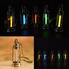 25 лет Тритий газовый светильник брелок акриловая анти-шок Автоматическая светящаяся флуоресцентная свечение без энергии Тритий