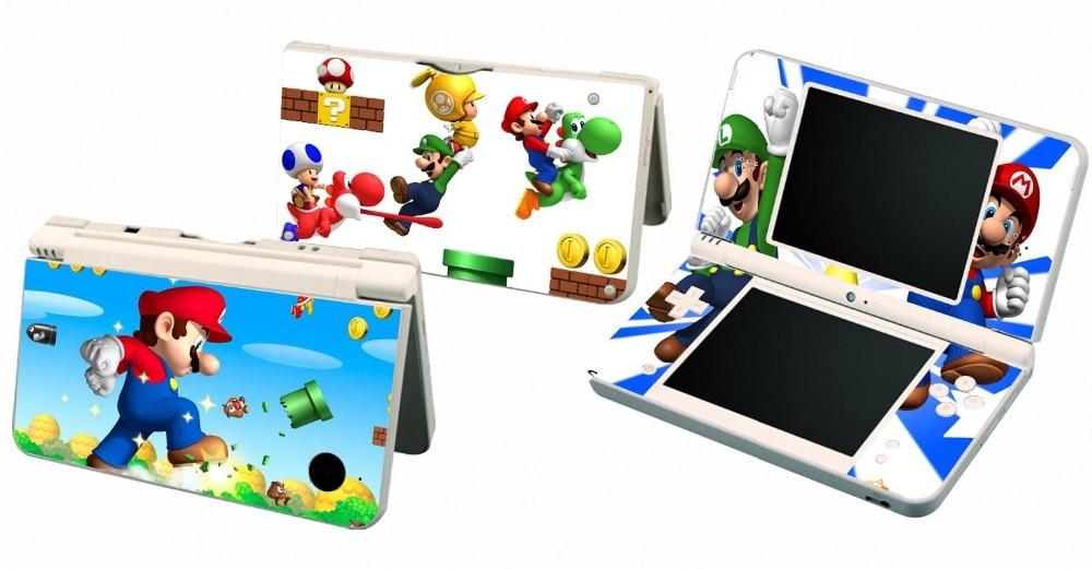 Etiqueta de protección de piel de vinilo 235 para Nintendo DSI XL LL, para NDSI XL II skins, pegatinas