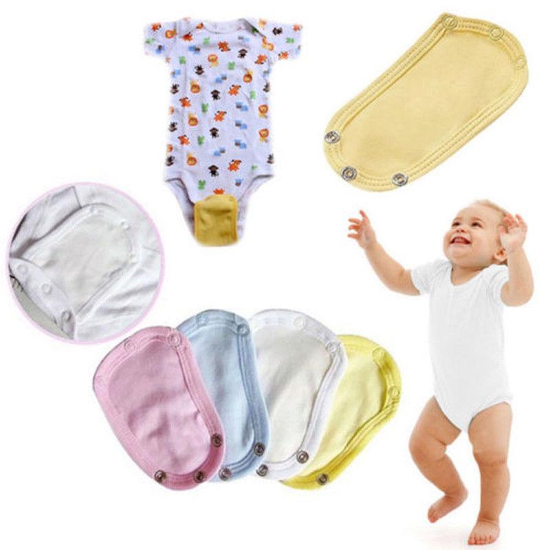 Baby Bodysuit Extend Diaper Butt Pocket Cover Underwear Extension Soft Bodysuits
