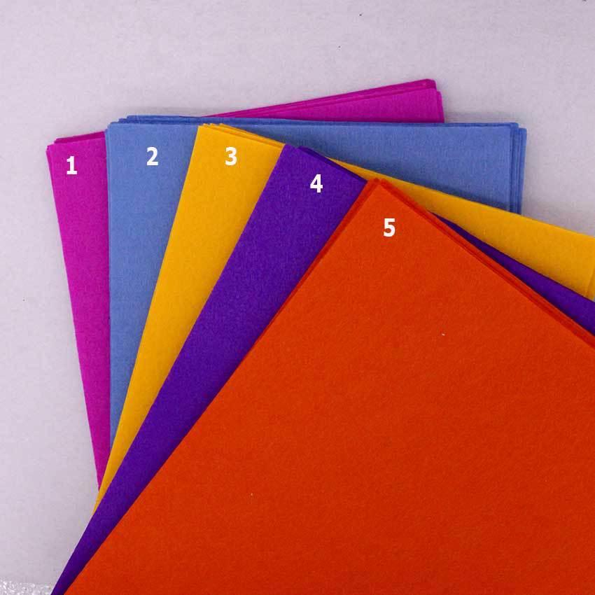 5 pano de feltro de cor pura 1mm tecido de feltro de feltro de feltro de tecido de feltro de feltro de tecido de feltro de costura de agulha diyneedle de costura artesanal