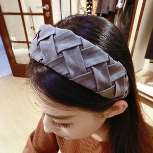 2021P New Arrival freeshipping wholesale fashion Japan style floral fabric bows metal hairbands popular hair accessories