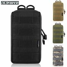 Pochette Molle tactique sac utilitaire EDC pochette pour gilet sac à dos ceinture chasse en plein air taille Pack militaire Airsoft jeu accessoire sac